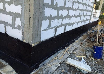 Гидроизоляция и теплоизоляция стен дома