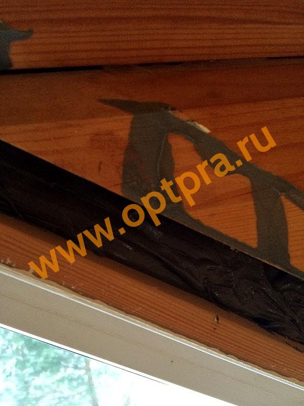 Герметик Ижора в шов окна фото