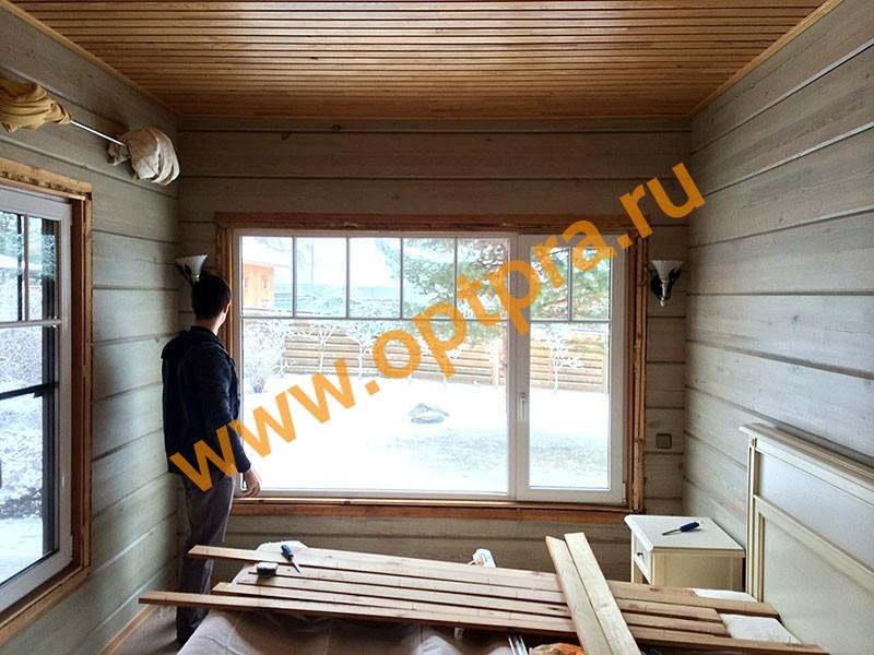 Герметизация окна фото
