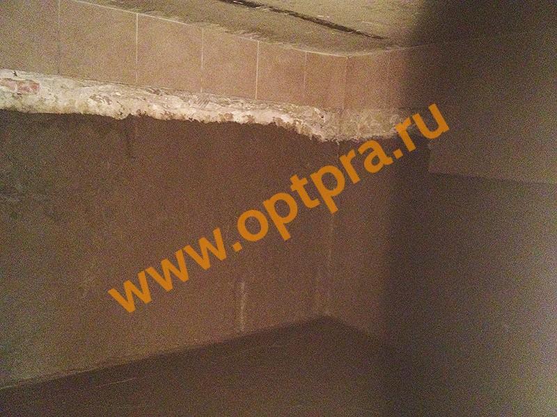 обмазочная гидроизоляция стен подвала изнутри