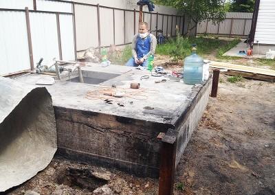 Гидроизоляция подвала в посёлке Серебряный Ручей