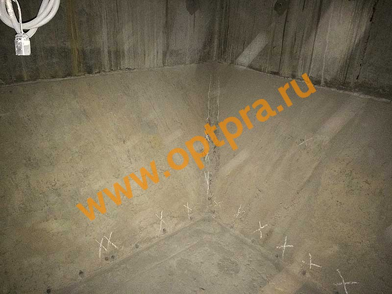 Инъектирование бетона, инъектирование шва