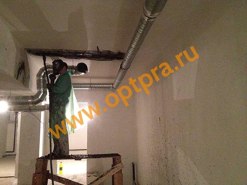 Инъектирование гидроизоляции