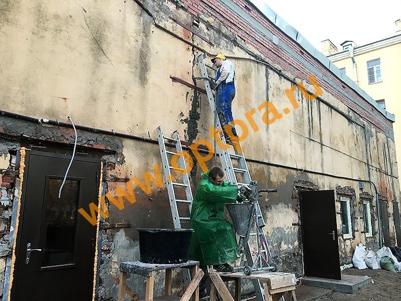 Инъектирование кирпичных стен
