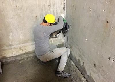 Гидроизоляция шахты лифта