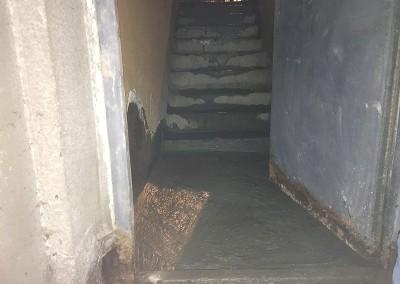 Гидроизоляция лестничной площадки