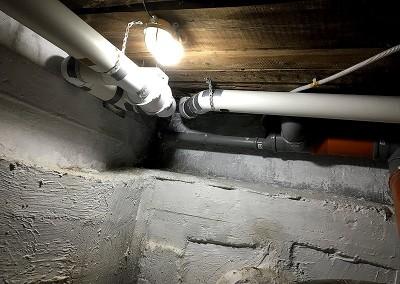 Конденсат в подвале