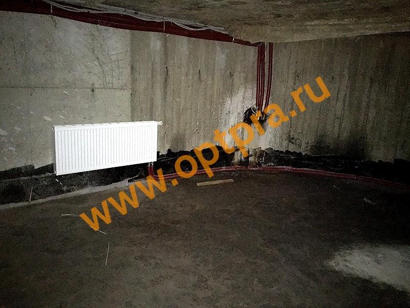 Инъектирование швов подвала. Особняк в Ольгино