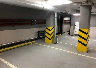 Гидроизоляция паркинга, инъектирование