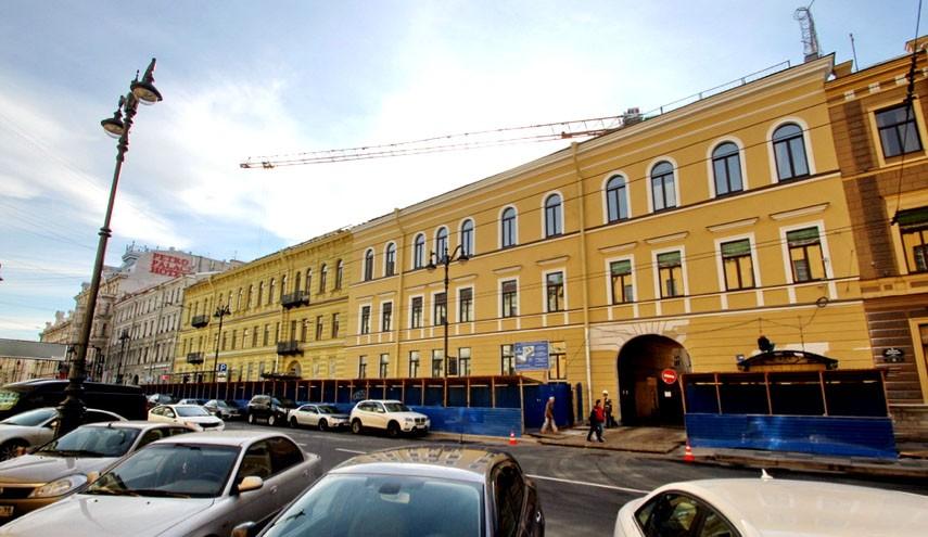 Здание на Малой Морской