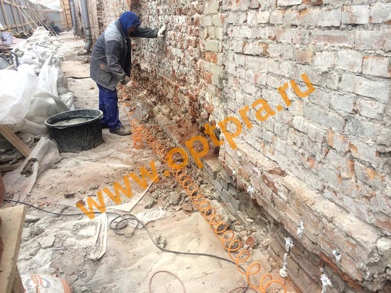 Усиление ограждающих конструкций