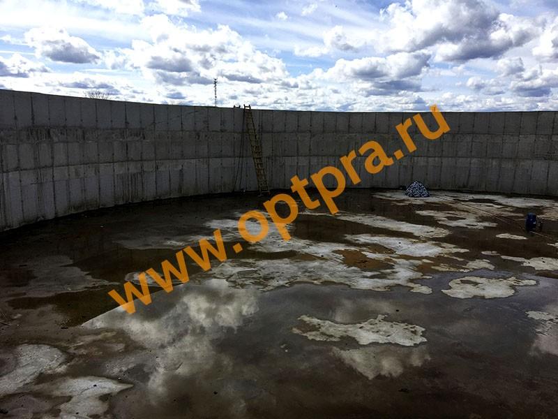 Гидроизоляция резервуара