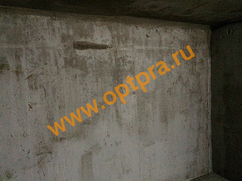 Обмазочная гидроизоляция бетонных стен