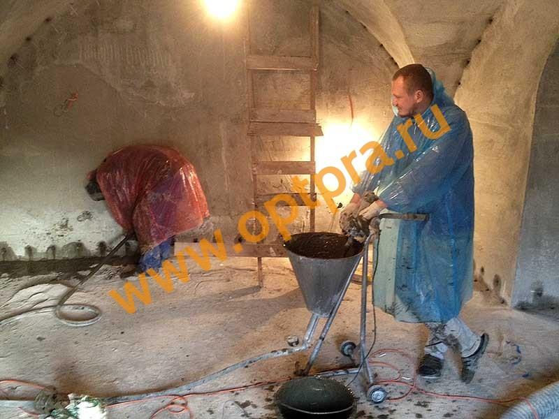 Инъектирование бетона гидроизоляция