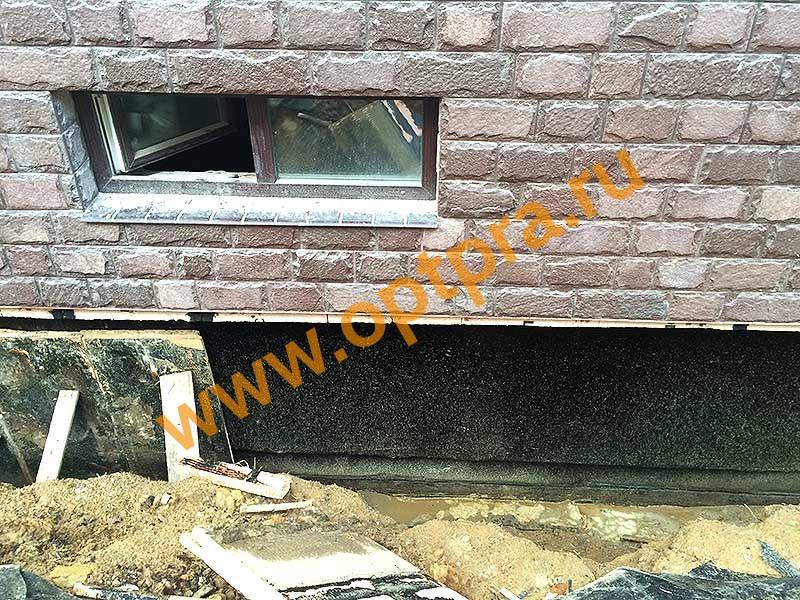 Теплоизоляция цокольного этажа снаружи