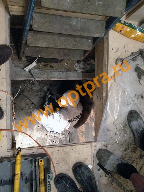 Инъектирование бетона