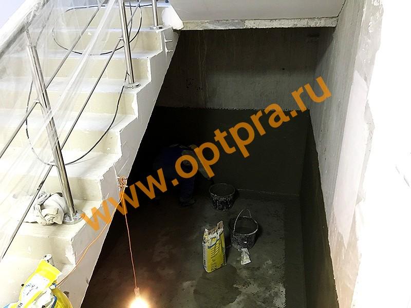 Обмазочная гидроизоляция стен