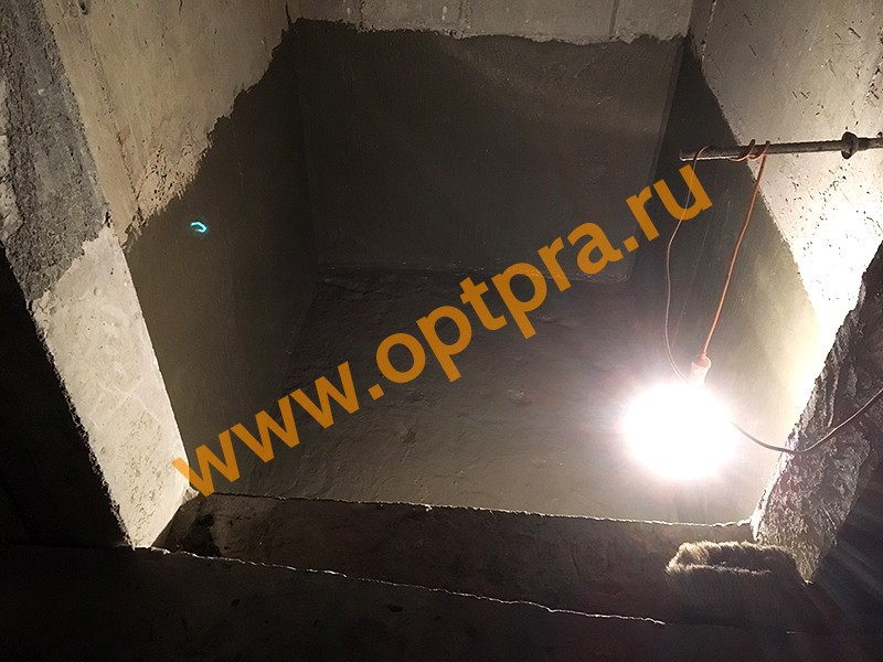 Гидроизоляция лифтовой камеры изнутри