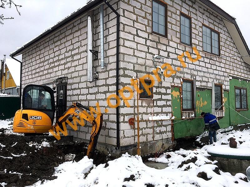 Фундамент укрепление ремонт