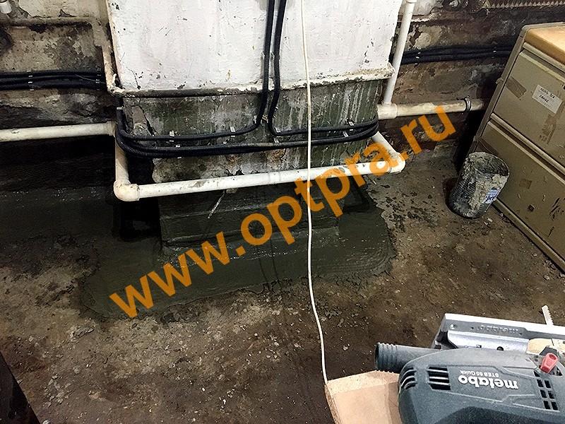 Инъектирование бетона, гидроизоляция швов