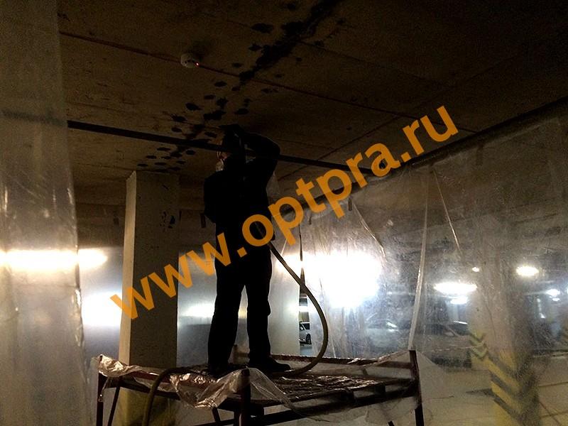 Устранение трещин в бетоне